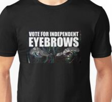 Doctor Who - Vote For Independent Eyebrows! Unisex T-Shirt