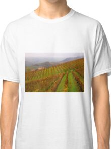 Vineyards of Barolo  Classic T-Shirt