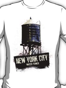 New York City Water Tower T-Shirt