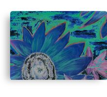 Oil Sunflower Flower Painting Poster Print Canvas Print