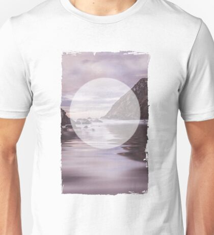 Calm Waters Geometric Symbol Unisex T-Shirt