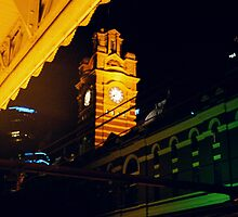 Night Clock by MichaelCouacaud