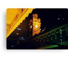 Night Clock Canvas Print