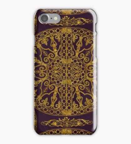 Historic Ornament Elegant Gold iPhone Case/Skin
