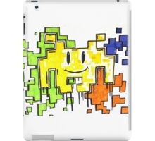 smiley space invaders  iPad Case/Skin
