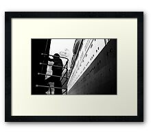 QE2 Station Pier Melbourne Framed Print