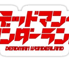 Deadman Wonderland Logo Sticker