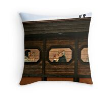 Personal Spaces Throw Pillow