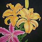 Three Liliums by vonnyk