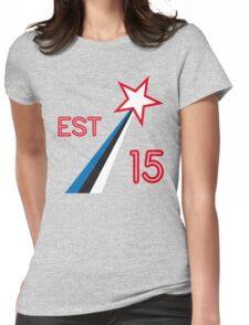 ESTONIA STAR Womens Fitted T-Shirt