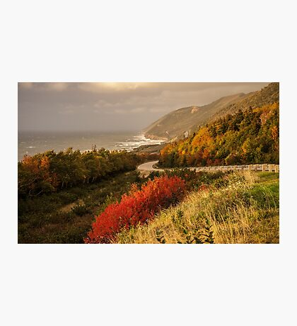 Autumn on the Cabot Trail Photographic Print