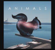 Animals - Scandalous Heart artwork (Jez Kemp album) Kids Clothes