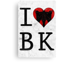 I Love Brooklyn BK, NY Canvas Print