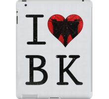 I Love Brooklyn BK, NY iPad Case/Skin