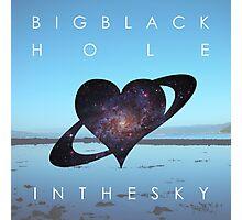 Big Black Hole In The Sky - Scandalous Heart artwork (Jez Kemp album) Photographic Print