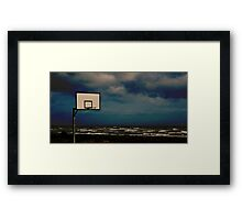 Anyone for some hoops? Framed Print