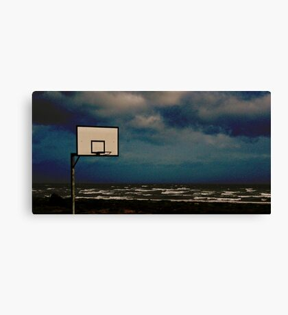 Anyone for some hoops? Canvas Print