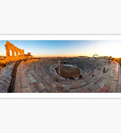 The Roman Arena in Verona, Italy Sticker