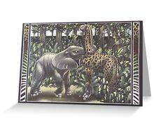Jungle Games Greeting Card