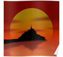Settlers of Saint Mont Michel Poster
