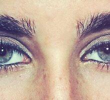 Lauren Jauregui's eyes by DanniMichelle