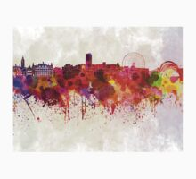 Sheffield skyline in watercolor background Kids Clothes