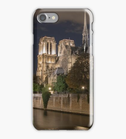Goodnight Notre Dame iPhone Case/Skin