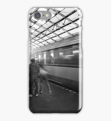 The train arriving iPhone Case/Skin