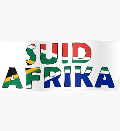 South Africa - Suid-Afrika Poster