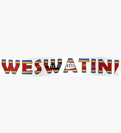 Swaziland - weSwatini Poster