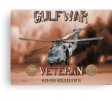 SH-60 SeaHawk Gulf War Veteran Canvas Print