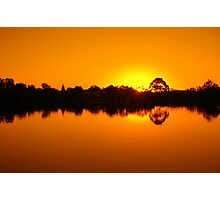 Unreal Sunset! Photographic Print