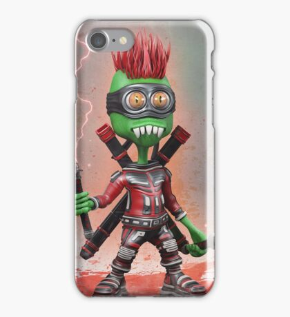 Alien Samurai iPhone Case/Skin