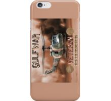 UH-1 Iroquois Gulf War Veteran iPhone Case/Skin