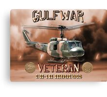 UH-1 Iroquois Gulf War Veteran Canvas Print
