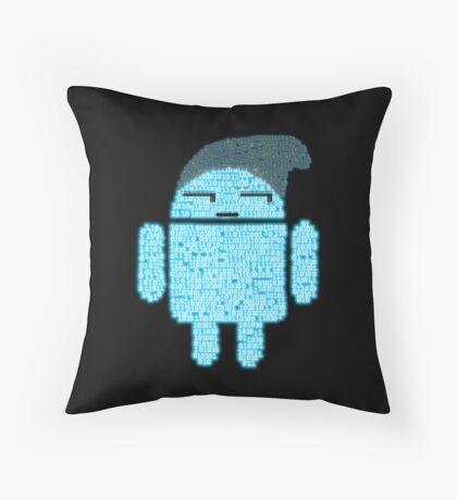 BeanieDroidv1.7 Throw Pillow