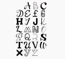 Alphabet Typography Unisex T-Shirt