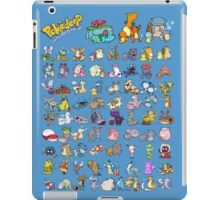 Gotta' Derp 'em all! iPad Case/Skin