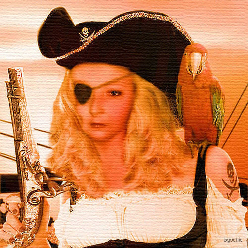 Liz, The Pirate by byuchic