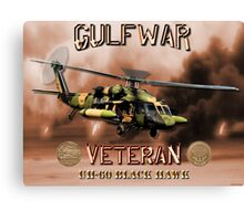 UH-60 Black Hawk Gulf War Veteran Canvas Print