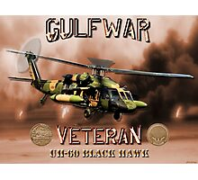 UH-60 Black Hawk Gulf War Veteran Photographic Print