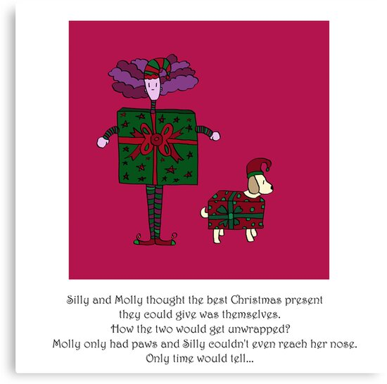 Silly and Molly At Christmas by Monica Ellis