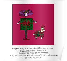 Silly and Molly At Christmas Poster