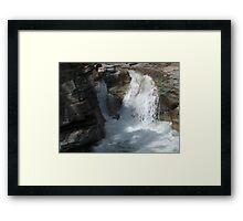 Gorge Water Fall 11 Framed Print