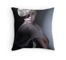 Untitled 2, from the Kai series Throw Pillow