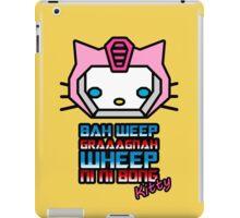 Bah Weep Graaagnah Wheep Ni Ni Bong Kitty iPad Case/Skin