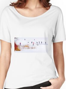 Canadiana Women's Relaxed Fit T-Shirt