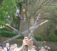 crossed swords by Wrigglefish