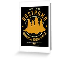 Nostromo Starfreighter Greeting Card