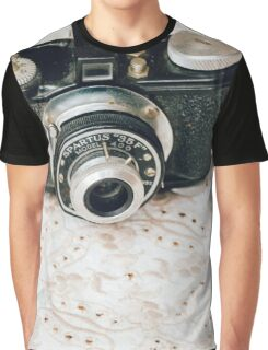Spartus and Lace Graphic T-Shirt